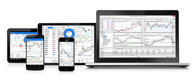 Test trading platform